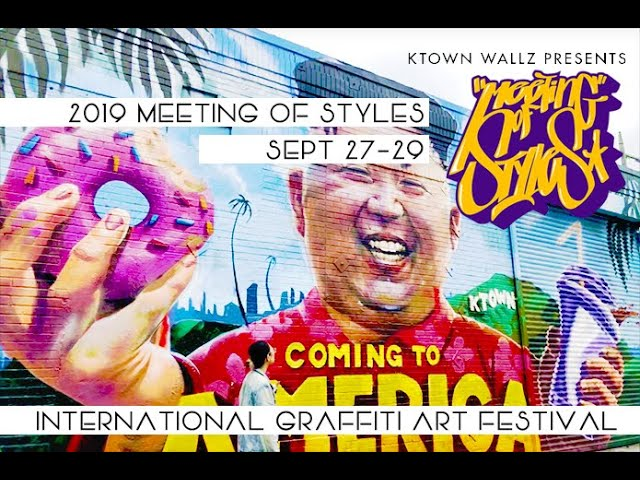 MEETING OF STYLES, LA 2019 Crowdfunding Campaign