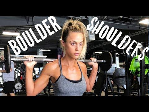 Shoulder Training with IFBB Bikini Pro