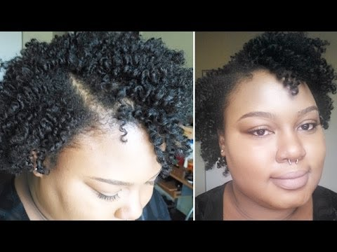 twist short natural hair