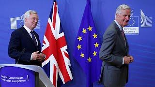 [Watch again] Davis and Barnier speak after latest round of Brexit talks