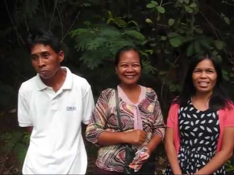 Giving Out The Donated Money For The Well And Bridge Project An Expat Philippine Lifestyles Video