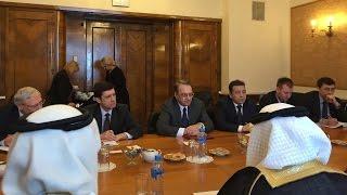 الأزمة السورية موضع خلاف خلال محادثات روسية سعودية
