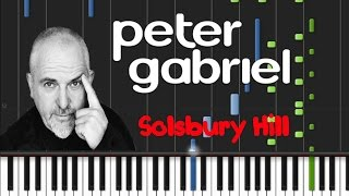 How to play piano cover peter gabriel - solsbury hill synthesia tutorial midi instrumentalhello, friend! you're on the channel midies mus. here is th...