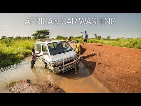 African car washing