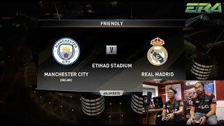 FIFA18: Johan (Man.City) vs Luqman (Real Madrid) - a.k.a Fenrir FIFA eWorld Cup (FEWC)