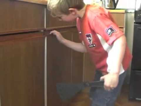 Whatlock Child Proof Magnetic Cupboard Door Lock Youtube