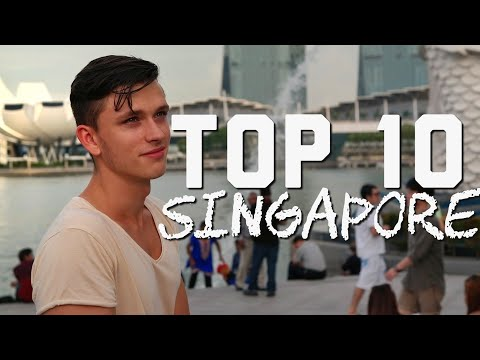 Top 10 Places to Visit in Singapore / BEST OF SINGAPORE !