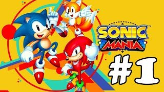 Прохождение Sonic Mania (PC) #1 - Green Hill Zone