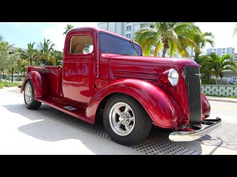 1939 CHEVY CUSTOM PICKUP FOR SALE CALL 954-394-6581 - YouTube
