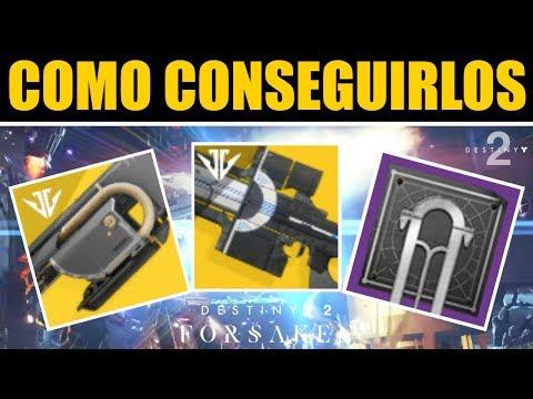 Destiny 2 - Cómo Conseguir Carga de Izanagi & Jötunn | Guía Completa de Aventura Exotica thumbnail