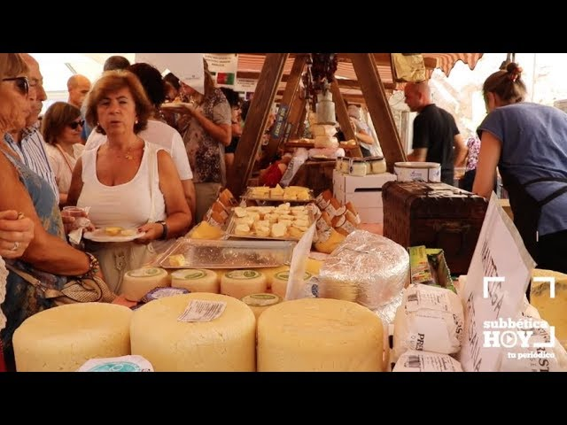 VÍDEOS: Zuheros: Bienvenidos al mundo del queso. Un paseo por una feria con mucho sabor