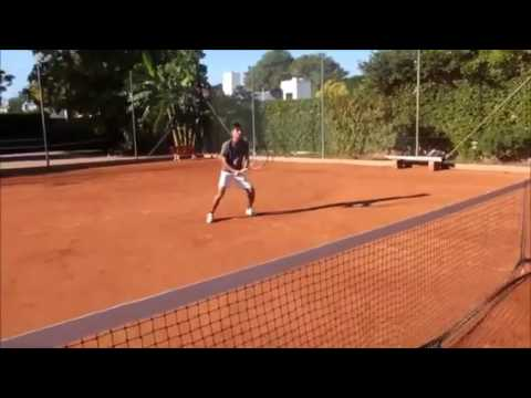Santiago Bracco  - College Tennis Recruiting Fall 17`