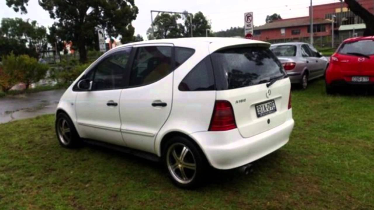 1999 mercedes benz a160 w168 avantgarde white 5 speed sequential manual hatchback youtube. Black Bedroom Furniture Sets. Home Design Ideas
