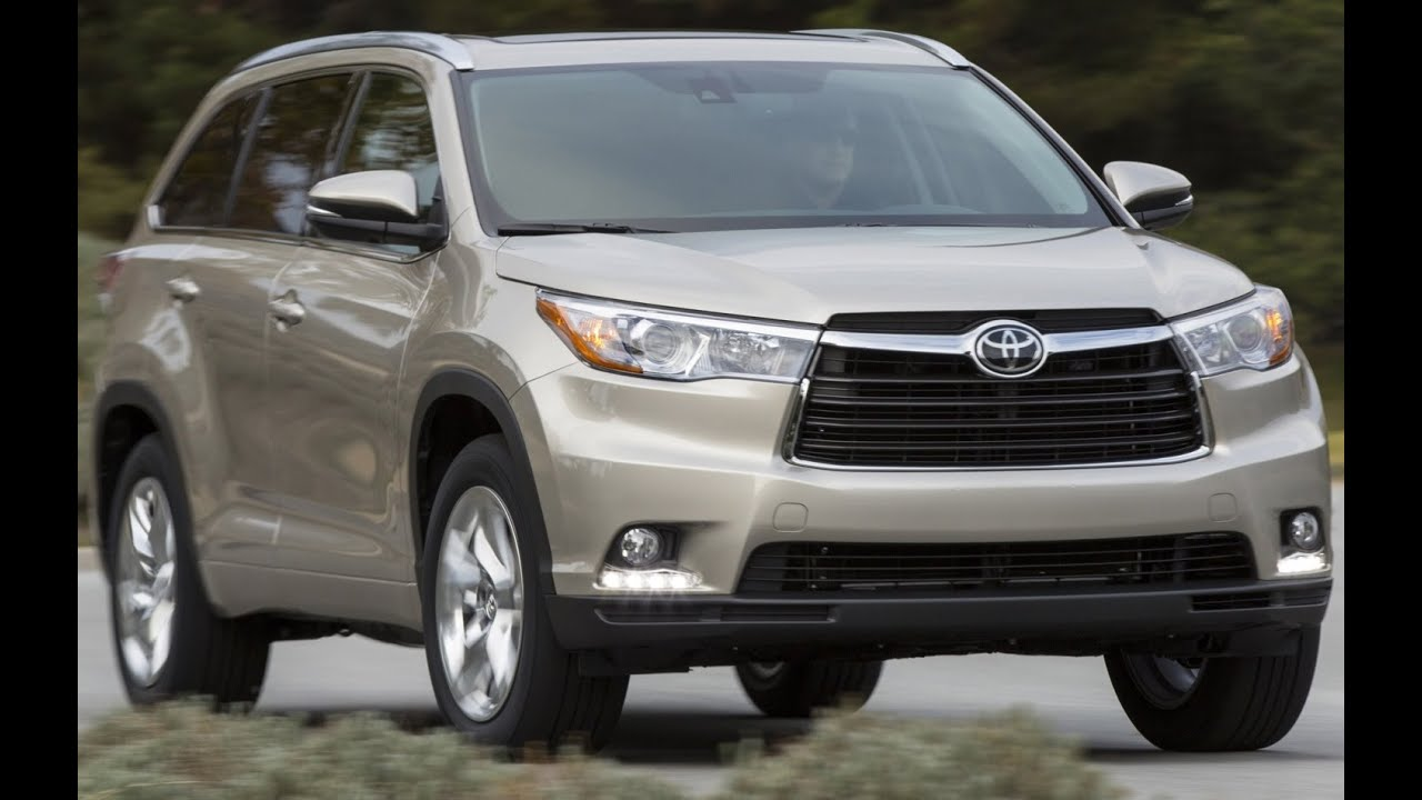 2016 toyota highlander hybrid exterior and interior review youtube. Black Bedroom Furniture Sets. Home Design Ideas
