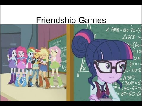 Blind Reaction: EQG Friendship Games