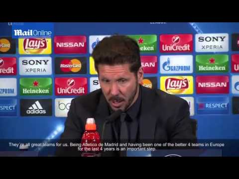 Atletico Madrid coach Diego Simeone demands 'it was our turn'