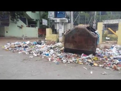 Garbage Disposal,Solid waste management in open areas