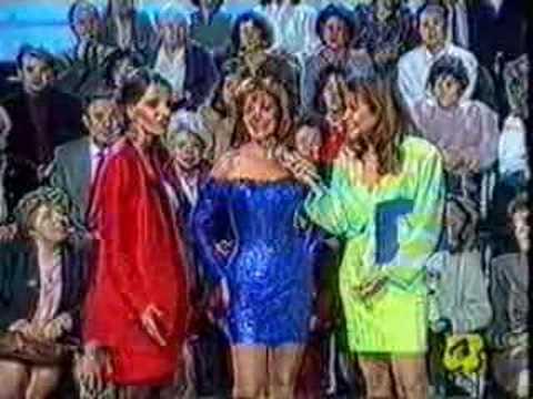 Maria Sorte en ITALIA 1992 year. TV show / part 2