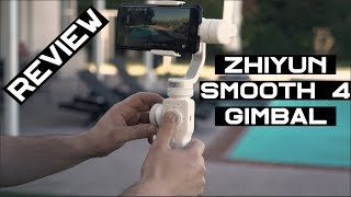Zhiyun Smooth 4 - First Smartphone Gimbal With Follow Focus! - Full Review   Momentum Productions