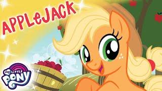 My Little Pony en español  Applejack | 1 hora RECOPILACIÓN | La Magia de la Amistad