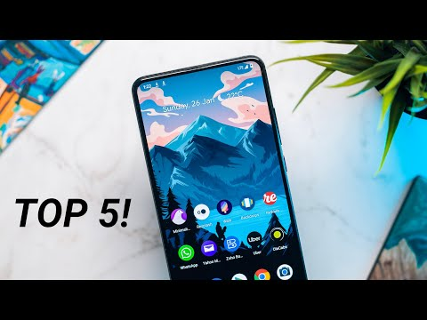 Top 5 Wallpaper Apps For Android! (Jan 2020) [Hindi]