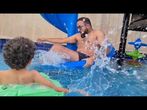 مقلبوا بابا في المسبح Youtube