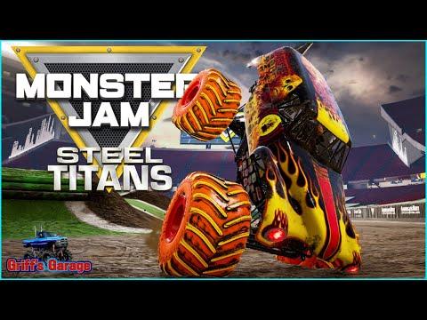 Monster Jam Steel Titans Freestyle Tournament   Atlanta