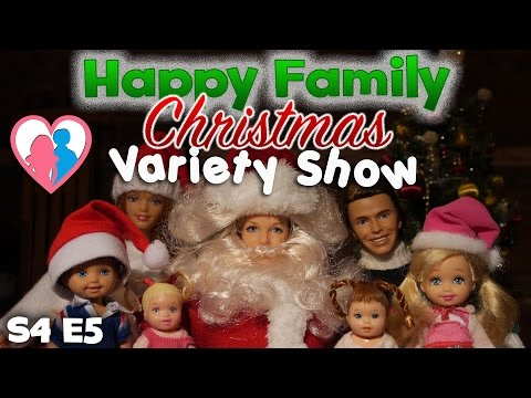 "The Happy Family Show - S4 E5 ""Christmas Variety Show"" 