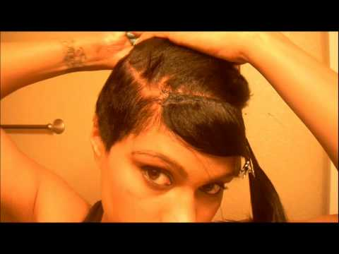 Rihanna Inspired Hair Part 2