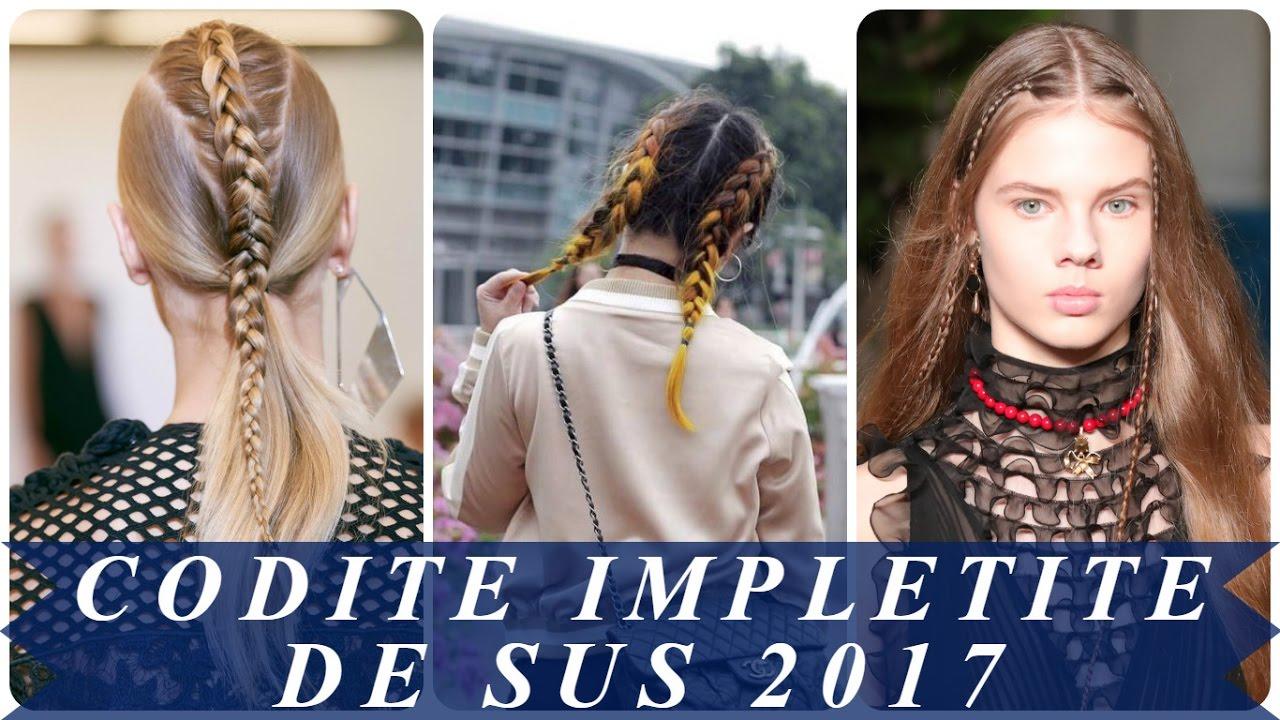 Coafuri Impletituri Elegante 2017