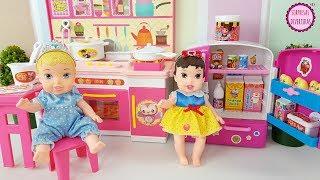 La cocina de bebés Disney Kongsuni Toys Kitchen Playset juguetes para niños