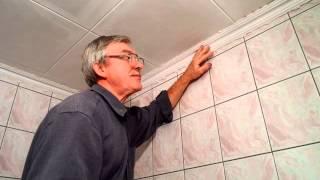 Легкий ремонт в ванной комнате.