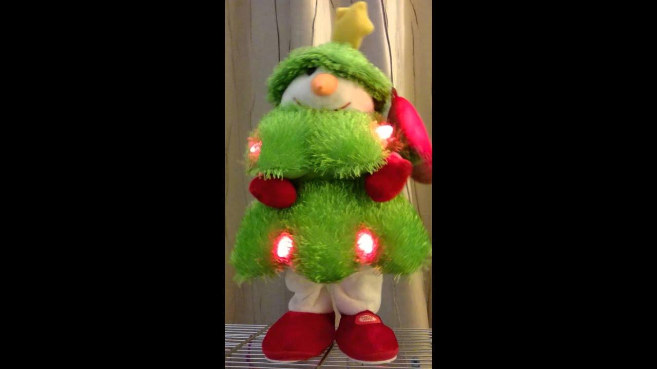 Singing, dancing Christmas tree. Ice Ice Baby. - YouTube