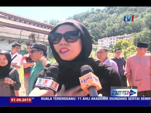ALLAHYARHAM JULIE DAHLAN SELAMAT DIKEBUMIKAN [1 MEI 2015]
