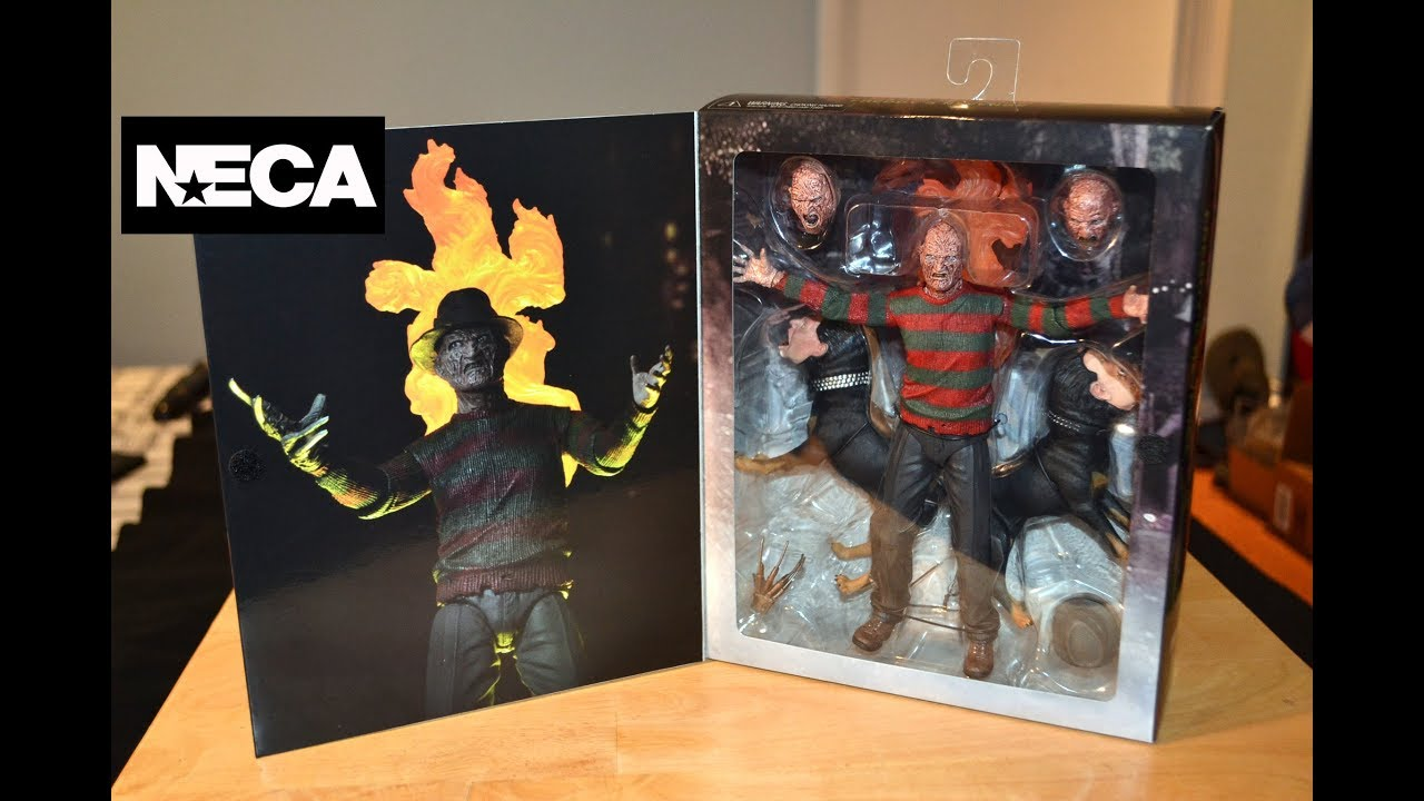 Ultimate Freddy Krueger Nightmare on Elm Street Action Figure Neca
