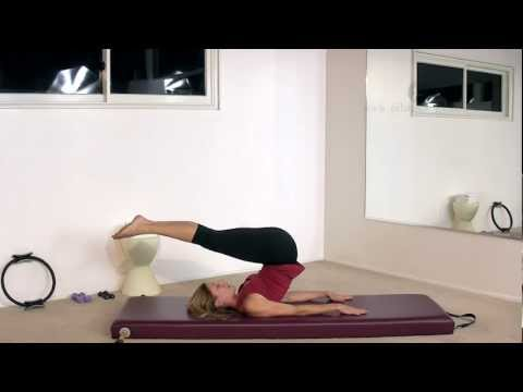 Pilates Jackknife Exercise with Alisa Wyatt