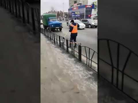 Подготовка Омска к приезду Владимира Путина