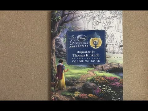 the-disney-dreams-collection---original-art-by-thomas-kinkade-flip-through