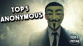 Ko su Anonimusi? - Top 5 Faktova o Hakerskoj Grupi Anonymous - Top 5 Petak