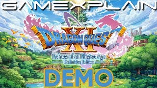 Dragon Quest XI S DEMO Live Stream! Check Out the Nintendo Switch version!