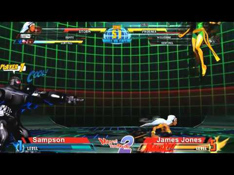 Sampson vs James Jones - Marvel Throwdown 2 @ Metropolis Comics And Toys