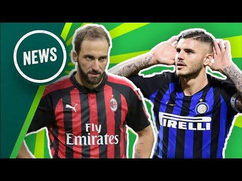Le news di  onefootball Italia: l'Inter batte il Milan, la Juve rallenta. Gravina presidente Figc