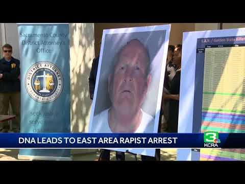 DNA leads to arrest in East Area Rapist/Golden State Killer  case