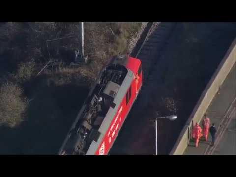BBC News Watch the first direct freight train from China arrive into London