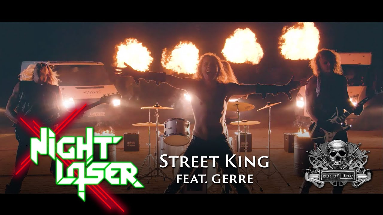 Night Laser - Street King feat. Gerre (Official Music Video)