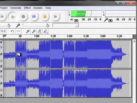 Remove Vocals of a song - Audacity - Minus One
