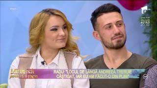 """Andreea: """"Vreau ca Radu să-mi rămână alături"""""""