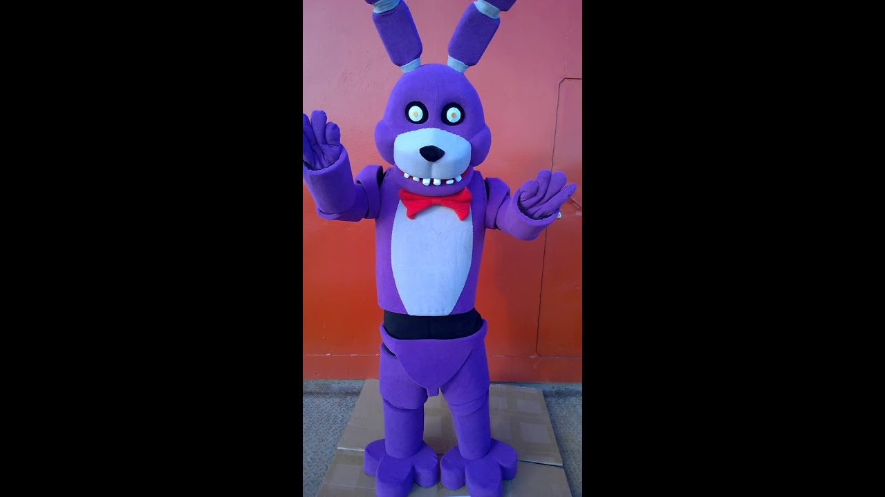 Fnaf bonnie the bunny costume youtube
