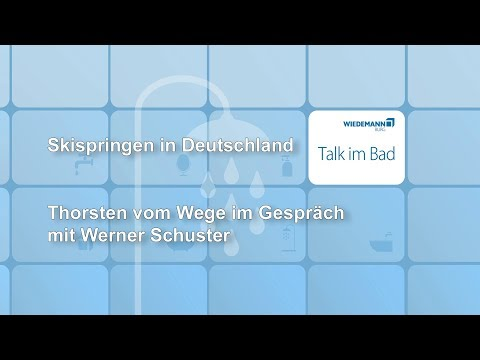 05.04.2018 Talk im Bad Nr.12 Gast: Skisprung-Bundestrainer Werner Schuster