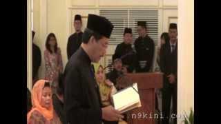 Istiadat Penyerahan Watikah Perlantikan & Mengangkat Sumpah MBNS